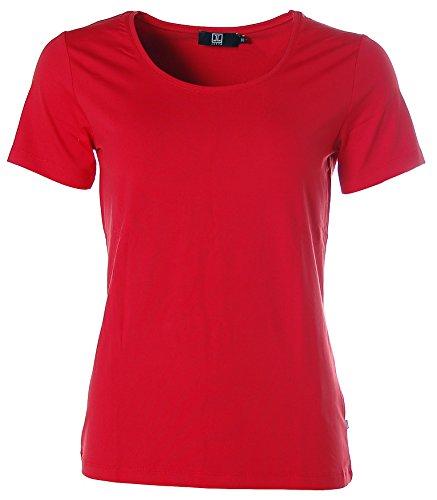6013864aecd69a Jette Damen Basic Kurzarm Shirt T-Shirt Rundhals  Amazon.de  Bekleidung