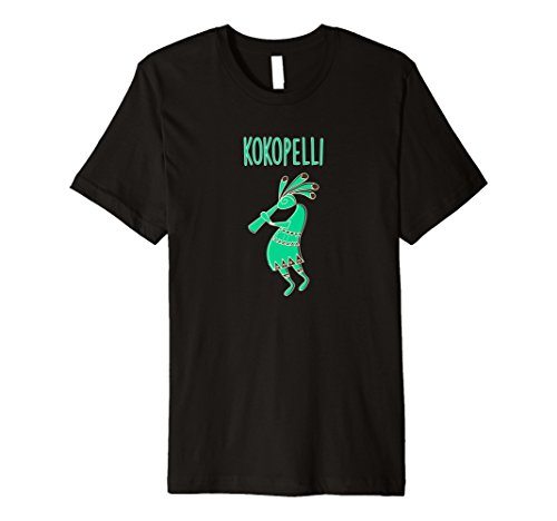 Kokopelli Native T-Shirt American Flute Player Gift Tee