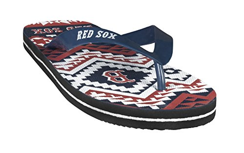 - Forever Collectibles MLB Flip - Flop Womens Aztec Size Small Pick Team - Boston Red Sox