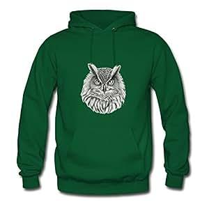 Owl Popular X-large Sweatshirts Personalized For Women Green