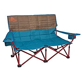 Kelty Low Loveseat Camping Chair – Portable, Folding Chair for Festivals, Camping and Beach Days – Updated 2019 Model