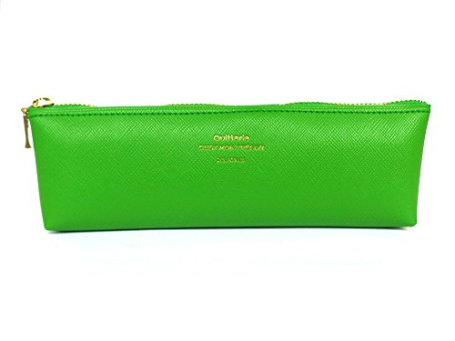 500222 Quitterie Pencil Case Green Pencil Holder Pen Case