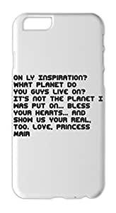 ON LY Inspiration? What PLANET do YOU GUYS live on? It's Iphone 6 plus case