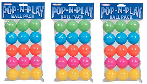 (Marshall Pet Products Pop-N-Play Ball Pack (3-Pack))