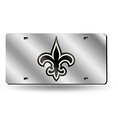 NFL New Orleans Saints Laser-Cut Auto Tag - New With Tags