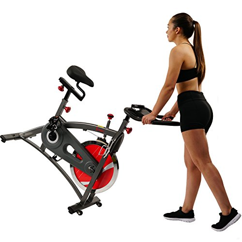 Sunny Health & Fitness Belt Drive Indoor Cycling Bike SF-B1423 by Sunny Health & Fitness (Image #9)