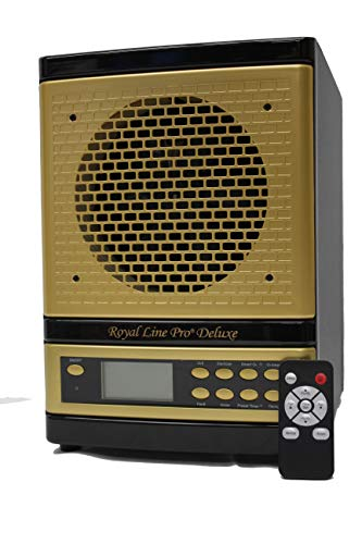 ROYAL LINE PRO® DELUXE FRESH AIR PURIFIER EXCLUSIVE 8 STAGE 3500 SQ FT IONIZER ALPINE LIVING CLEANER HEPA UV OZONE. AROMATHERAPY *EXCLUSIVE HONEYCOMB CARBON.LUXURY GOLD ON BLACK