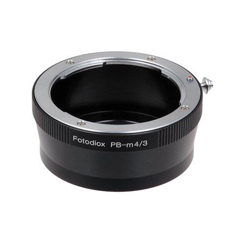 Fotodiox Lens Mount Adapter - Praktica B (PB) SLR Lens to Micro Four Thirds (MFT, M4/3) Mount Mirrorless Camera Body