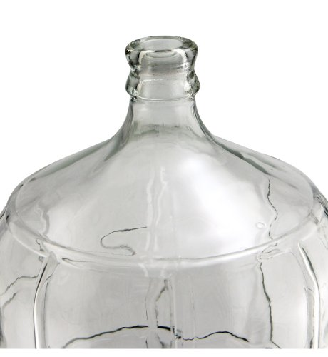 Kegco KC FP-CB-06 Glass Carboy, 6 gallon, Clear by Kegco (Image #1)