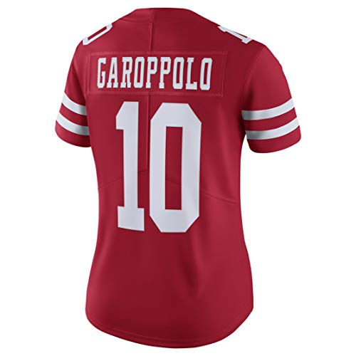- Intuit Fast Women Jimmy_Garoppolo_10_Scarlet Fans Replica Jersey Sportswear Custom Football Game Limited Elite Legend Jerseys