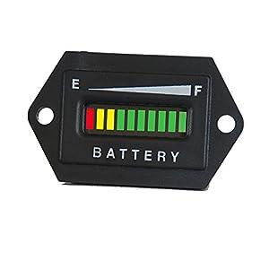 48 Volt Golf Cart Digital LED Battery Indicator Meter