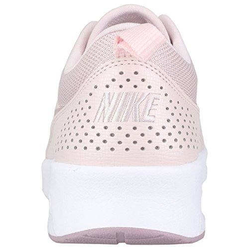 NIKE Rose Max 612 White Elemental Rose Thea Pink Air Sneaker Barely 66r71