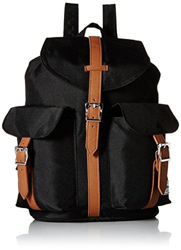 herschel-supply-co-dawson-black-tan-one-size