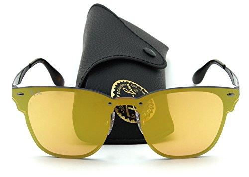 Ray-Ban RB3576N BLAZE CLUBMASTER Sunglasses - Blaze Ban Ray Clubmaster