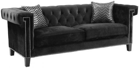 Coaster Reventlow 505817 Sofa in Black