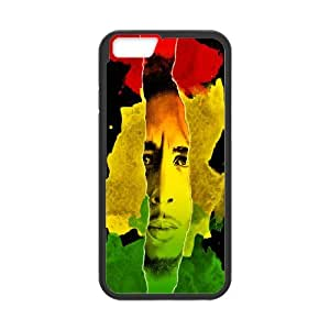 Diy Phone Cover Bob Marley for iPhone 6 4.7 Inch WEQ679822