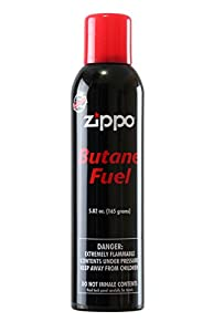 Zippo Butane Fuel, 5.82 oz., 165 g from Zippo Manufacturing Company