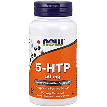 NOW 5-htp 50mg, Capsules, 90 Veg Capsules