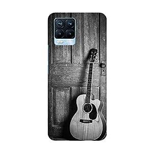 "TRUEMAGNET Premium ""Guitar"""" Printed Hard Mobile Back Cover for Realme 8 / Realme 8 Pro, Designer & Attractive Case…"