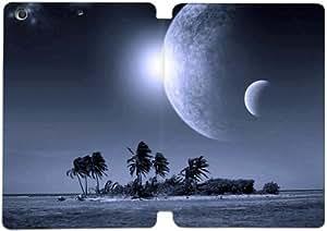 Cubierta de cuero y caja de la PC funda / soporte para funda de Apple iPad Mini 4 funda Con Magnetic reposo automático Función de despertador DIY por The Chronicles Of Narnia D5R6Jq2G5Sb