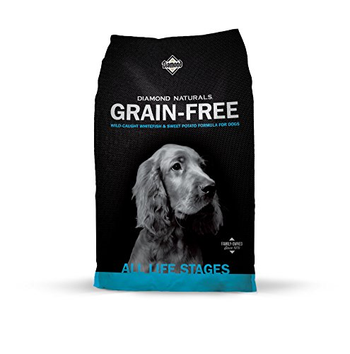 Diamond Naturals Grain Free Real Meat Recipe Premium Dry Dog Food With Real Fish 28Lb (Diamond Grain Free Dry Dog Food)