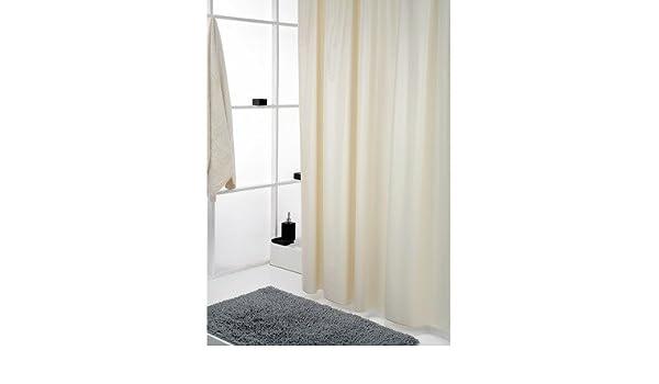 Sorema Siena - Cortina para baño, de PVC, 180 x 180 cm, color mediterranean: Amazon.es: Hogar