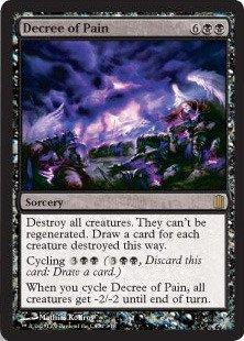 Magic: the Gathering - Decree of Pain - Commander's Arsenal - Foil