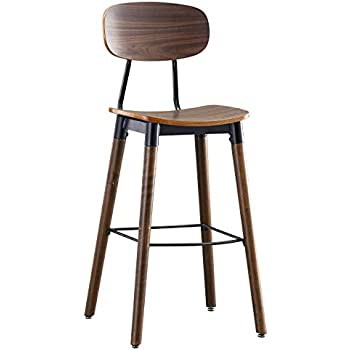 Amazon Com Ink Ivy Lancaster Counter Stools Solid Wood