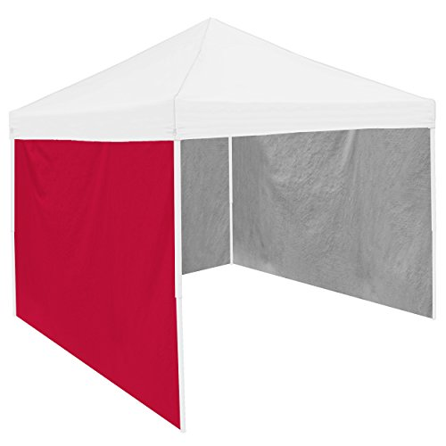 Panels Side Tent Tailgate - NCAA Adult Side Panel, 9 x 6', Red
