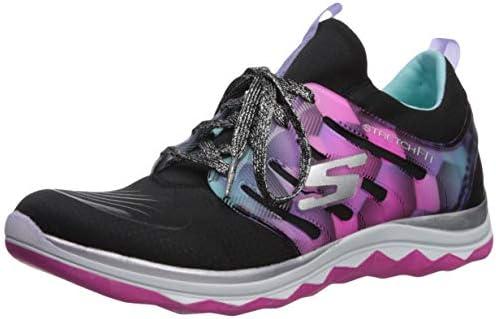 Skechers Diamond Runner, Entrenadores Niñas, Negro (Black/multi), 33.5 EU: Amazon.es: Zapatos y complementos