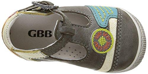 GBB Mario - Zapatos de primeros pasos Bebé-Niñas Multicolor - Multicolore (11 Vtc Gris/Turquoise Dpf/Milk)