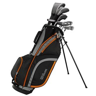 Wilson 2017 X31 High Launch Technology Mens Golf Package Set Graphite/Steel...