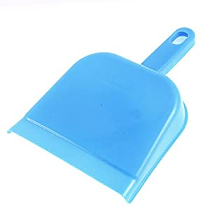 uxcell Car Dashboard Desktop Mini Cleaning Brush Dustpan 3 Pcs Tri Color