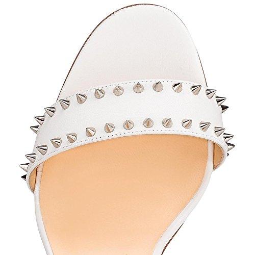 Sandalias Verano PU de Mujer Gladiador Tac Zapatos Zapatos Primavera Club Wq0IgEqB