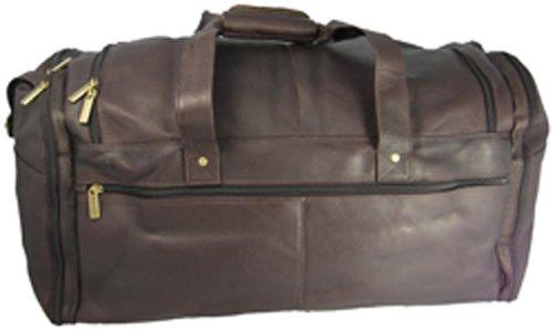 david-king-co-extra-large-multi-pocket-duffel-cafe-one-size