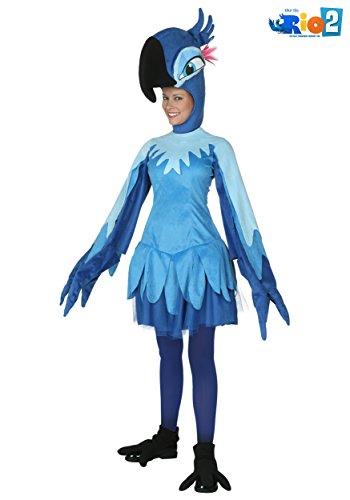 Adult Rio Jewel Costume Large Blue ()