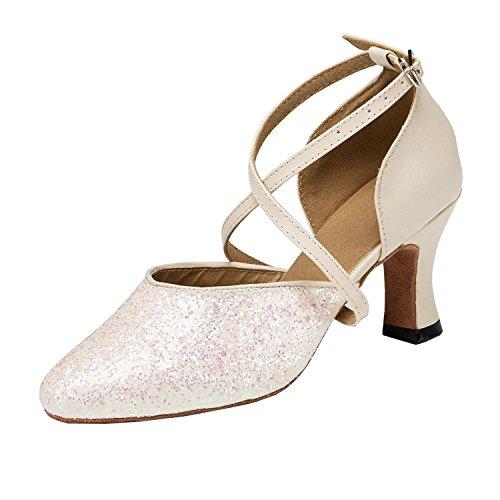 Minitoo 35 Senhoras Bege Tamanho Dançando Sapatos B4rRqwBa