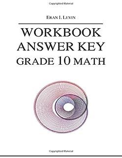 Amazon workbook grade 10 math 9781495344374 eran i workbook answer key grade 10 math fandeluxe Gallery