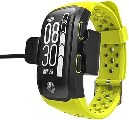 QIANXIAN El SmartWatch un Tipo Inteligente Mirada Inteligente en Movimiento Durante Todo el día y vigilar Impermeable IP68 frecuencia de la Actividad cardíaca ECG monitoreo de Pelo teléfono y noti.