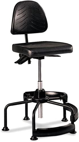 Safco Products Task Master Deluxe Industrial Chair Additional options sold separately
