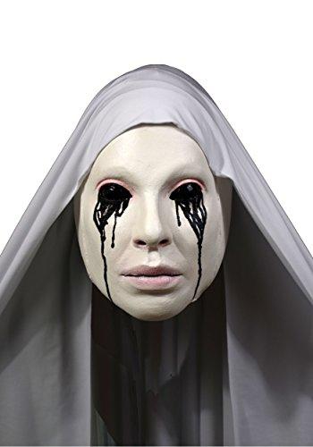 Nun Mask Costume (Trick or Treat AHS Asylum Nun Adult Mask-Standard)