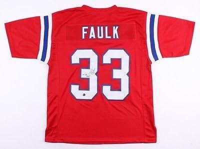 Kevin Faulk New England Patriots Signed