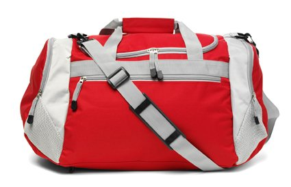 Sporttasche 'Como', Farbe: Rot, Groesse: 42,5 x 31 x 27 cm