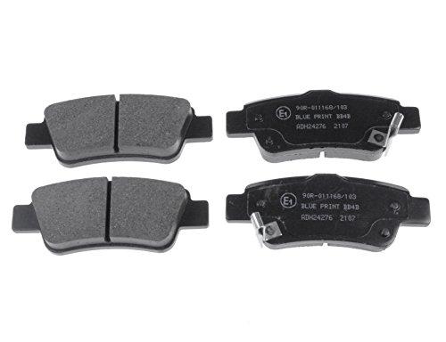 Brake Rear Pad Mintex (Replacement Blueprint Rear Brake Pads (Full set for Rear Axle) ADH24276)
