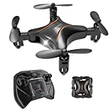 Drocon DC-65 Foldable Mini RC Drone Kids, Portable Pocket Quadcopter Altitude Hold Mode, 3D Flips, Headless Mode One-Key Take-Off/Landing, Easy to Fly Beginners Makes a Great Gift