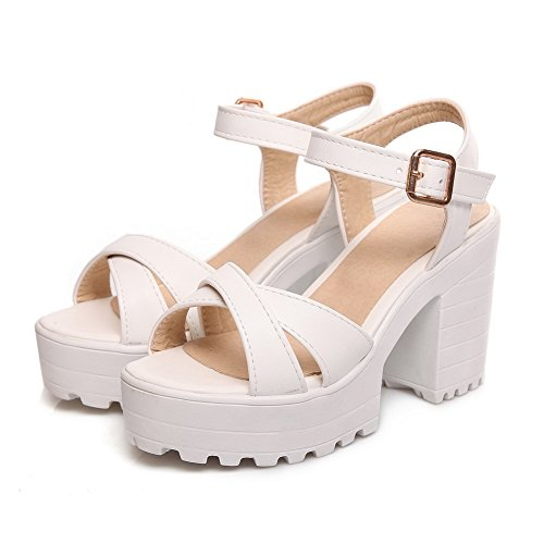 ASL05381 5 Plateforme 36 Femme Blanc Blanc BalaMasa TqFzfxwx