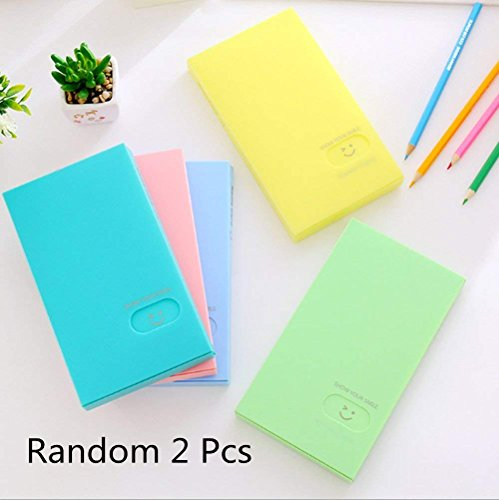 Business Card Book Holder, 2 PCS Business Name ID Credit Card Holder Rack Book Case Organizer Lomo Card Photocard Photo Album (120 ()