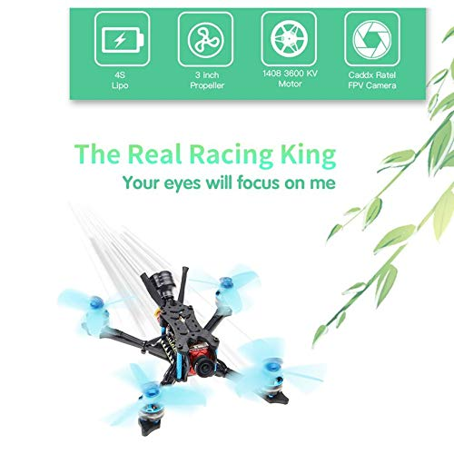 HGLRC Arrow 3 FPV Racing Drone 6S BNF Quadcopters with Frsky XM+ Receiver by Wikiwand (Image #3)