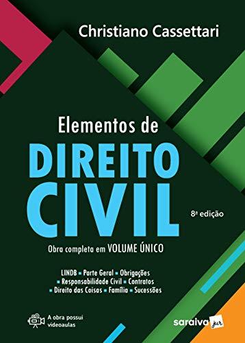 Elementos de Direito Civil - 8ª Ed. 2020