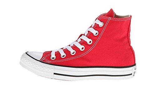 Converse Chuck Taylor All Star High Top Core Colors (4 D (m) Us, Rojo)